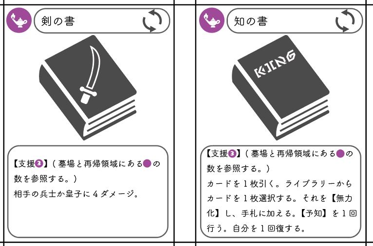 カードゲームを作る③~基本カードのデザイン~