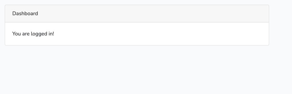 Laravel 8においてログイン機能を実装する。(laravel ui)